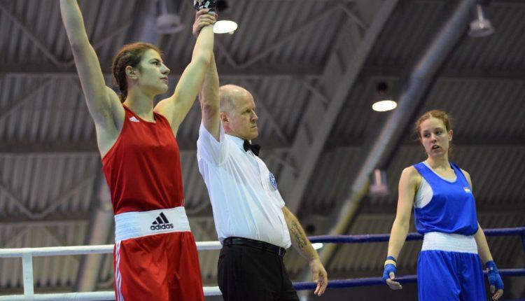 Cristina Cosma victorie in semifinale - box