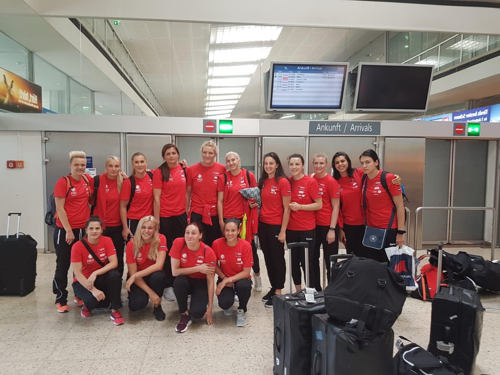 Echipa Nationala Handbal Feminin Romaniei Campionatul European