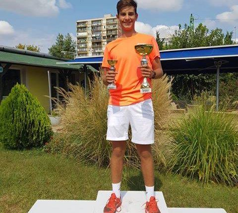 Tenis Tanarul Alex Coman de la CSM Craiova, invingator la competitia ETC Cup 2018 din Budapesta